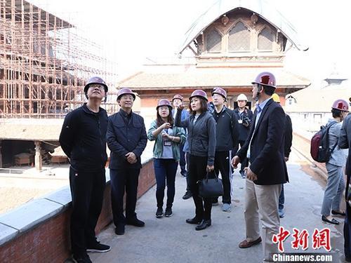 中国国家国际发展合作署副署长邓波清一行访问尼泊尔