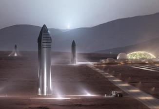 火星移民在即?马斯克:2050年前将送100万人到火星
