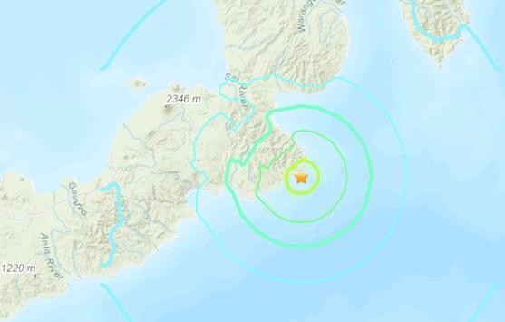 美国地质勘探局:巴布亚新几内亚发生6.2级地震