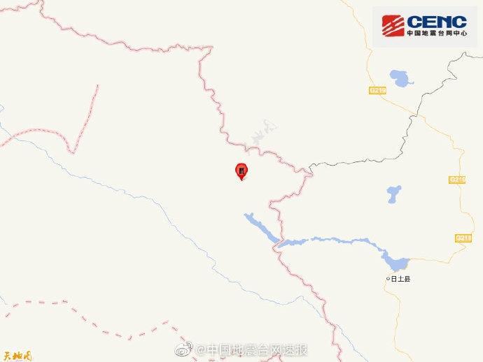 克什米尔地区发生3.9级地震震源深度20千米