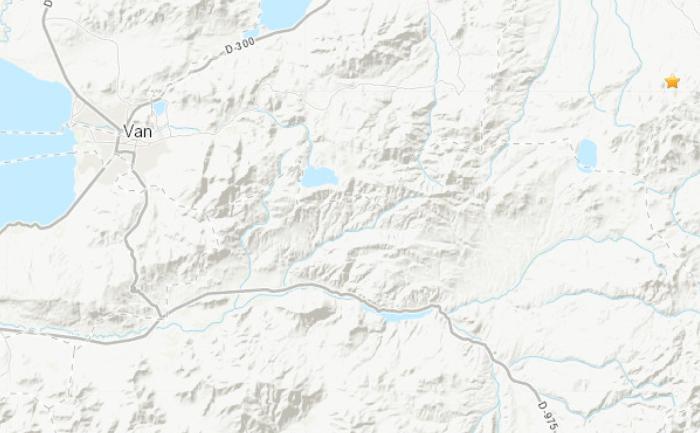 土耳其东部地区北京时间6月25日18时03分许发生5.4级地震