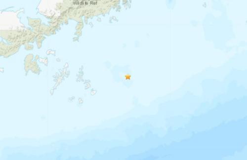 北京时间7月22日14时12分左右,阿拉斯加半岛附近海域发生7.8级地震