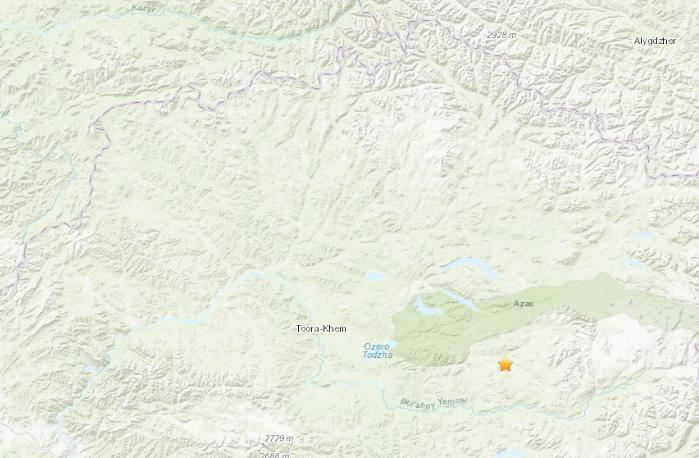 俄罗斯南部地区发生5.1级地震震源深度15.1公里