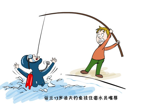 渔夫的简笔画 第8张 美拍图