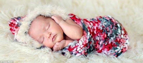 美国摄影师拍宝宝可爱睡姿