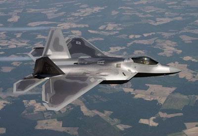美国空军f 22战机 图片来源:环球网