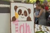 """在法国出生的大熊猫""""圆梦""""一岁啦"""