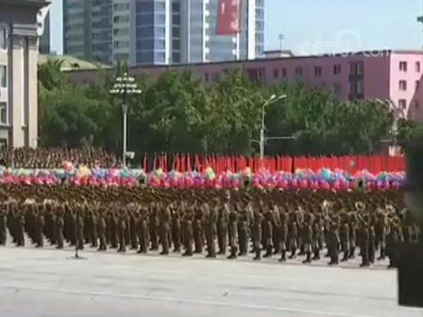直击朝鲜国庆70周年阅兵式
