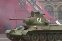 莫斯科红场阅兵总彩排 传奇装备一比一还原