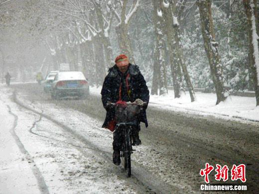 武汉迎来新年首场降