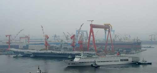 解放军少将:中国航母不能成某些媒体炒作噱头(4)