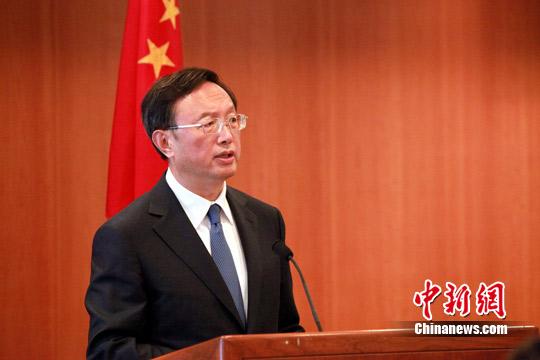 中国外长杨洁篪敦促美方纠正售台武器错误