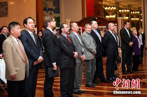 中国新闻社在俄庆60周年驻俄大使俄媒致贺