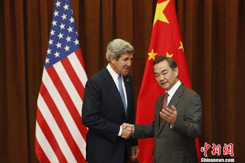 美国务卿克里履新后首度访华朝鲜议题料成焦点