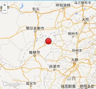 陕西榆林市神木县发生2.6级地震 震源深度0千米