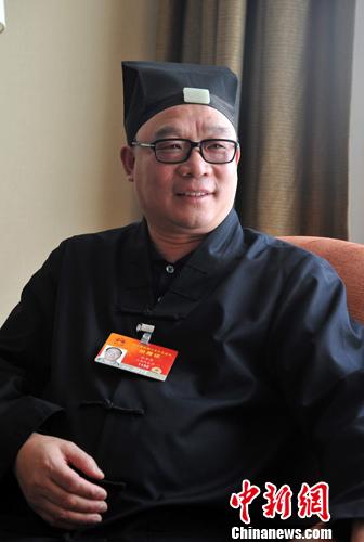 张金涛道长:不遗余力促进道教走向世界