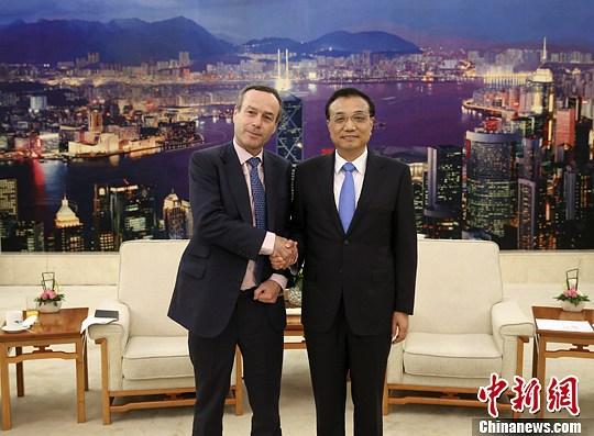 李克强会《财经时报》总编辑:于国际媒体客观报道中国