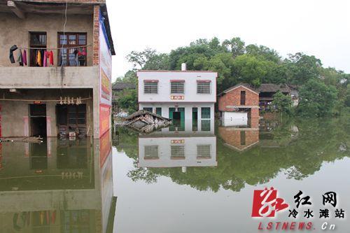 暴雨致湖南160万人受灾死亡6人