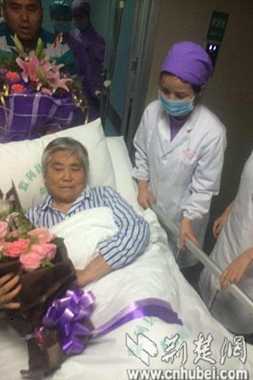 """""""东方之星""""获救者朱红美转入普通病房 状况稳定"""
