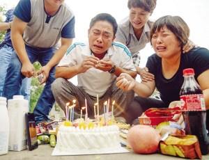 """犧牲消防員生日和""""頭七""""在同一天 親人痛哭"""