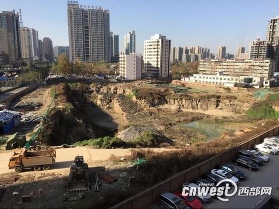 西安多项目未经考古就开工唐长安城遗址渐消失
