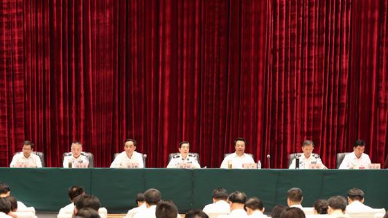 郭声琨强调:深入推进社会治安防控体系建设