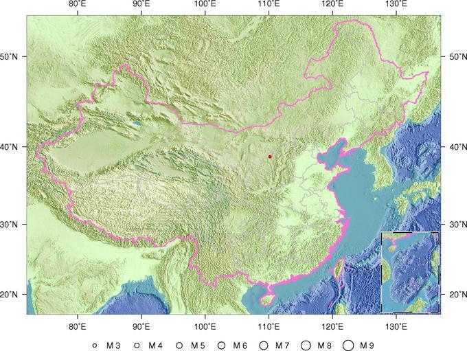 陕西榆林神木县发生2.6级地震震源深度0公里