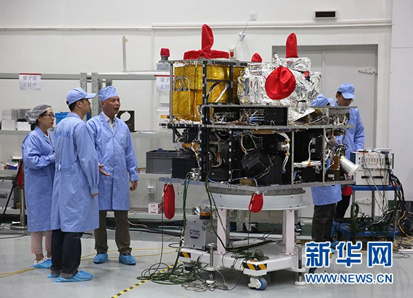 我國首顆量子科學實驗衛星將于7月擇機發射