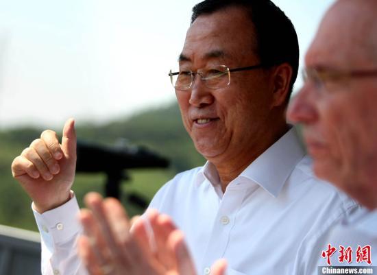 潘基文将于本周访华参访杭州和苏州