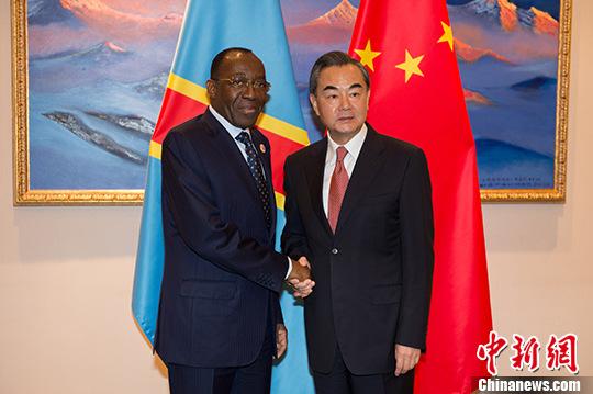 王毅会见马里、刚果(金)、科摩罗、马达加斯加客人