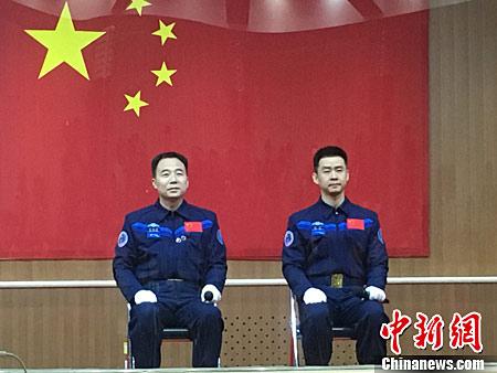 神舟十一号17日7时30分发射 景海鹏和陈冬任航天员 - 新新 -