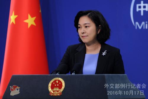 外交部:期待菲总统访华推动两国关系重回正轨