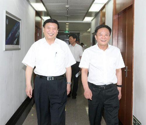 孙绍骋任国土资源部党组书记 姜大明改任党组成
