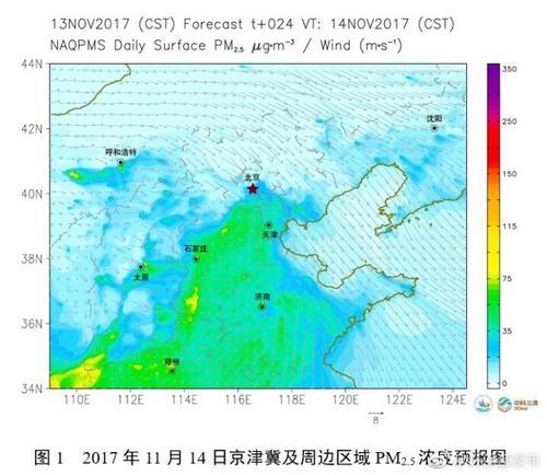京津冀及周边部分地区16日或将出现中至重度污染