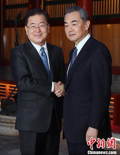 王毅:努力开辟朝鲜半岛新的未来