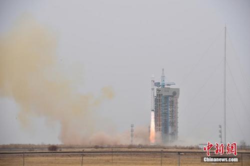 """中国首颗软件定义卫星""""天智一号""""将于下半年发射"""
