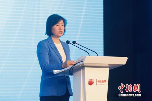 全国人大常委会副委员长沈跃跃出席华文传媒论坛开幕式并致辞