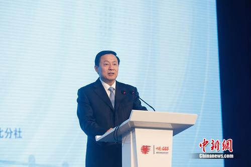 国务院新闻办副主任郭卫民出席华文传媒论坛开幕式并致辞