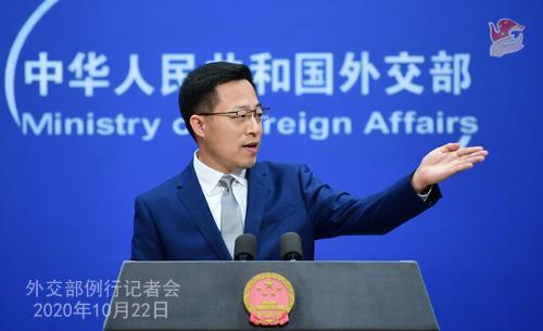 外交部就中国经济恢复增长 萨德 问题等答问