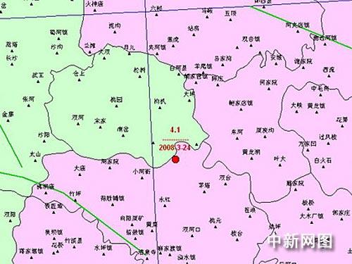 湖北郧西地图全图