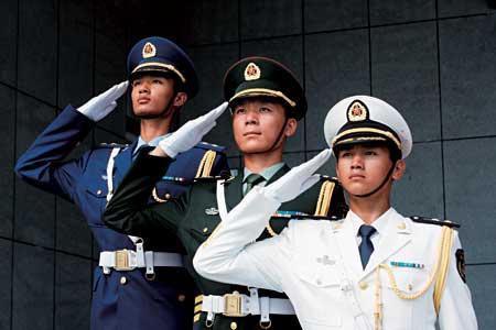 中国军人礼仪 情礼交融 海军礼仪独树一帜