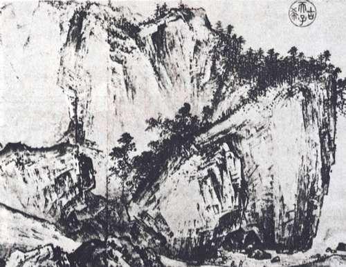 山水画的技法 斧劈皴的相关介绍