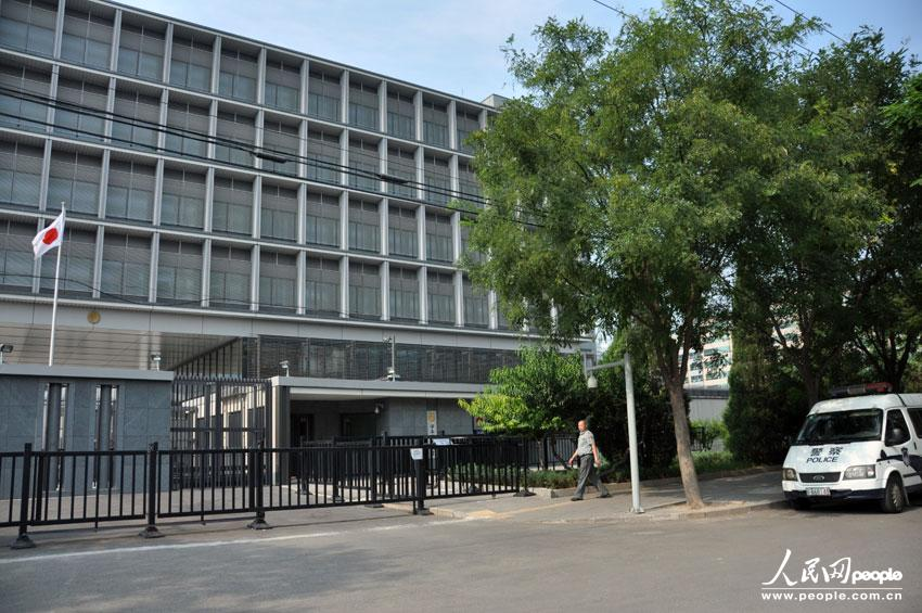 日本驻华使馆网站_中国警方加强对日本驻华大使馆的保护-中新网