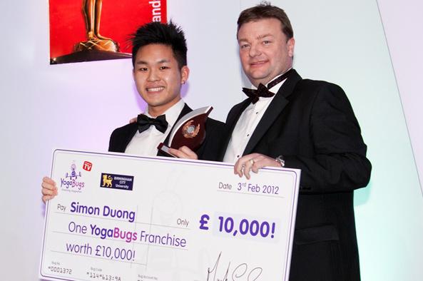 击败两千竞争者 英华人毕业生获万元创业基金