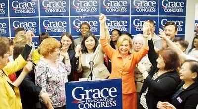 纽约逾十个女议员力挺孟昭文参选国会议员(希冀)