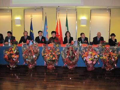 意大利皮埃蒙特大区华人移民协会举行换届庆典
