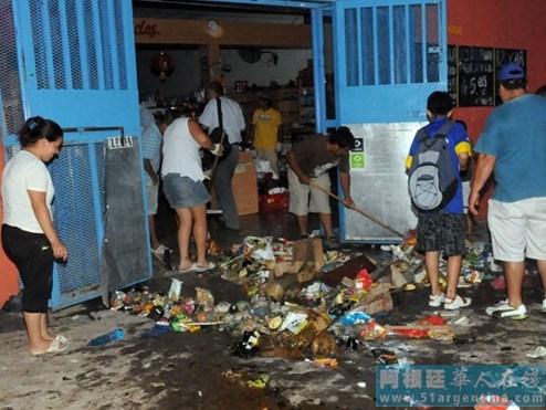 阿根廷华人超市组织抗议哄抢事件指疑涉种族歧视