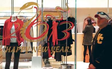 温哥华西语裔也到华埠办年货华商减价冀丁财两旺
