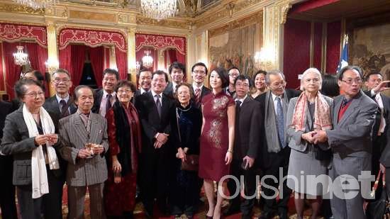 法国部长级国务秘书向华人拜年:看重与中国合作