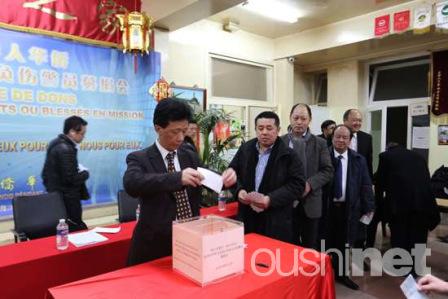 旅法华侨华人自发为因公伤亡警员捐款获警方赞赏
